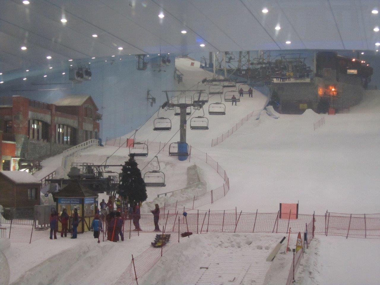 Dubai Mall Indoor Ski Slope 10