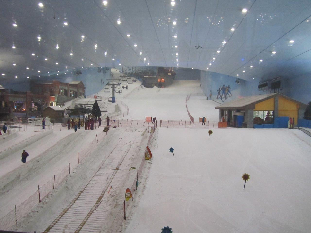 Dubai Mall Indoor Ski Slope 9