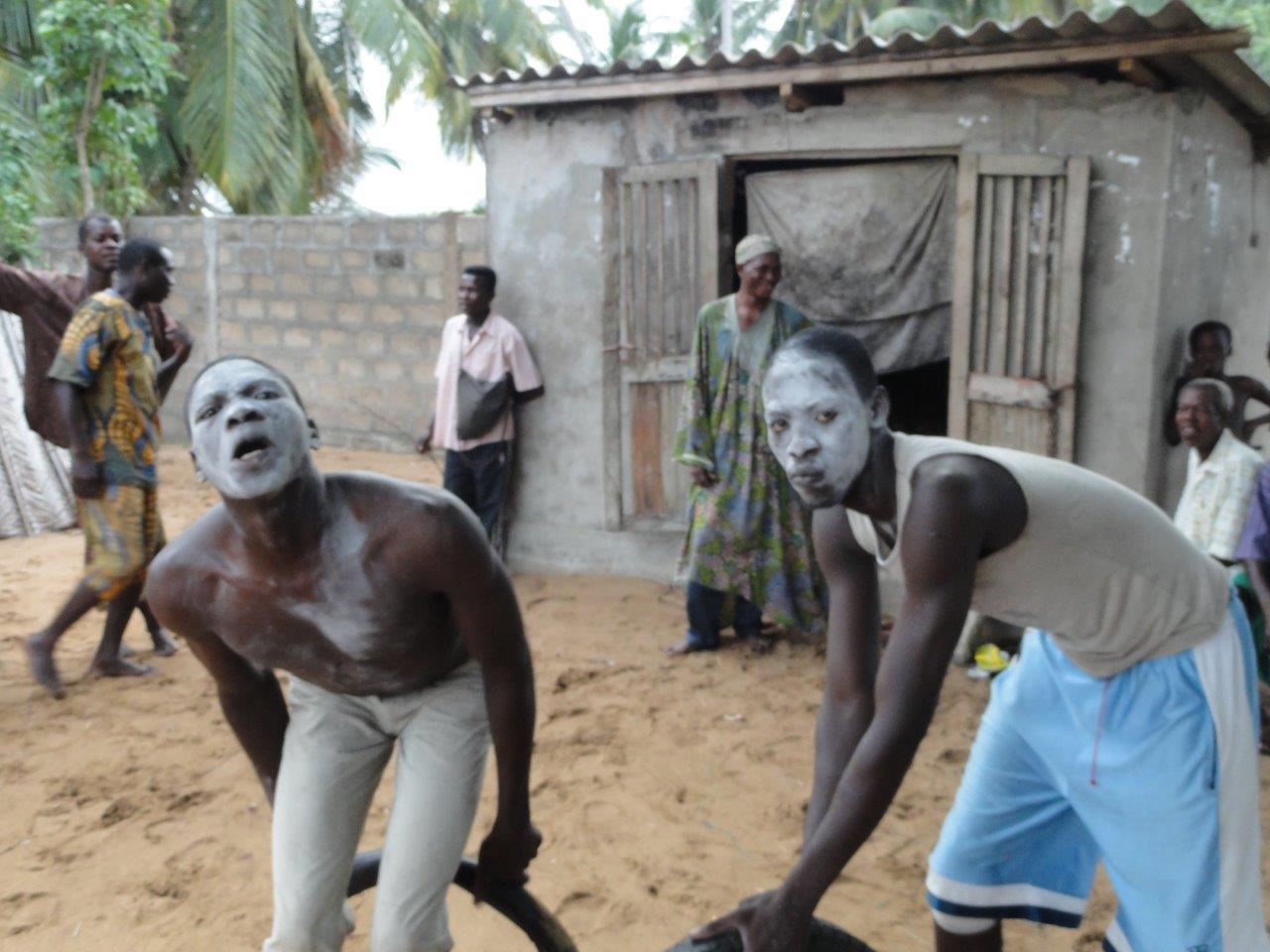 Week 9 South Benin Voodoo ritual 063