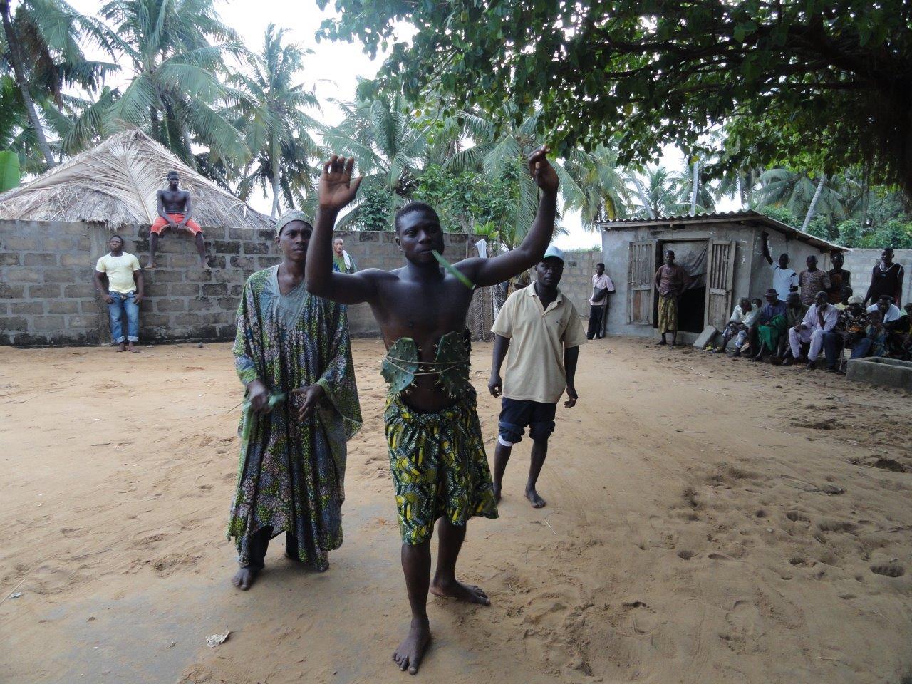 Week 9 South Benin Voodoo ritual 098